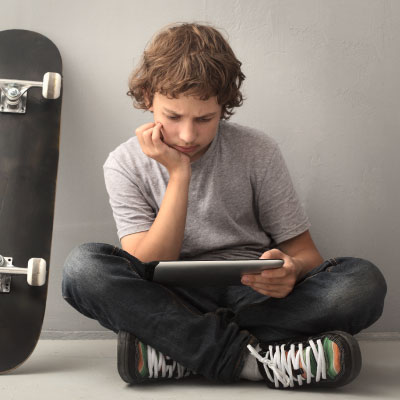 Broadband VoIP IT Solutions | Tatton Tech | Boy and Skateboard