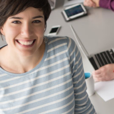 Broadband VoIP IT Solutions | Tatton Tech | Smiling Woman